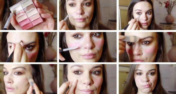 Как с помощью макияжа замаскировать носогубные складки