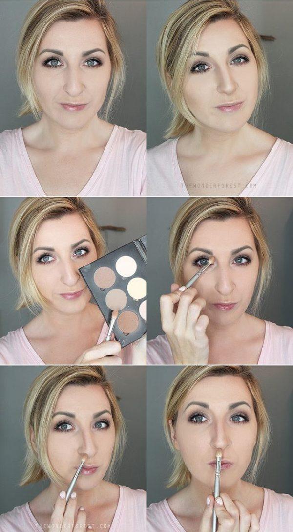 Как уменьшить кончик носа как приподнять кончик носа